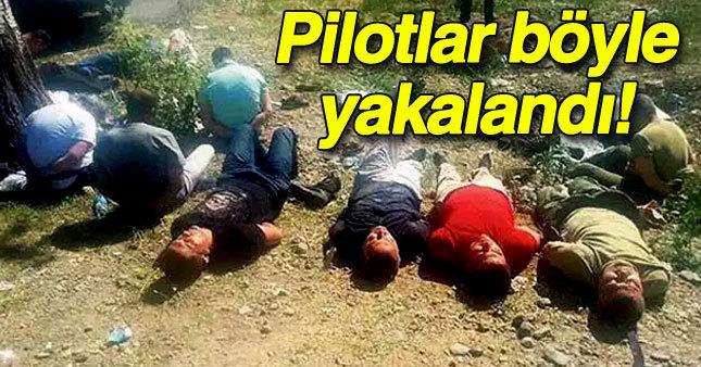 Darbeci pilotlar böyle yakalandı