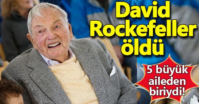 David Rockefeller hayatını kaybetti! David Rockefeller kimdir? 5 büyük aile David Rockefeller öldü mü