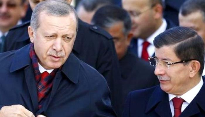 Davutoğlu yayınladığı mesajda Erdoğan'ı anmadı