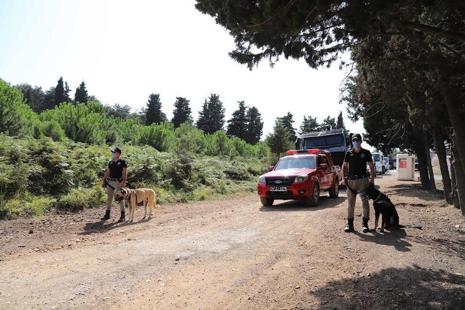 Denetim Aydos Ormanı'nda Yangını Önledi