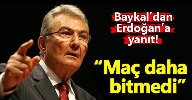Deniz Baykal'dan Erdoğan'a referandum yanıtı