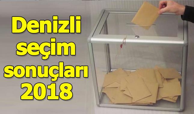 Denizli seçim sonuçları 2018 - 24 Haziran oy oranları