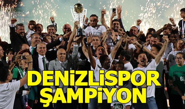 Denizlispor 1. Ligi şampiyon tamamladı