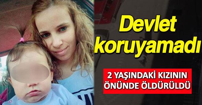 Devlet korumasındaki kadın boşandığı eşi tarafından öldürüldü