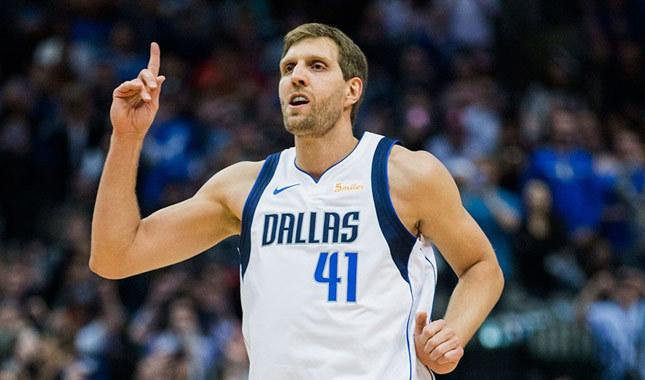 Dirk Nowitzki NBA tarihine geçti