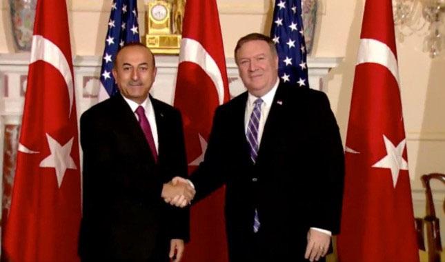 Dışişleri Bakanı Çavuşoğlu ABD'li Pompeo ile telefonda görüştü