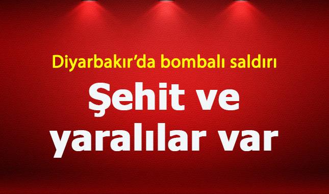 Diyarbakır'da bombalı saldırı 2 asker şehit
