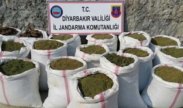 Diyarbakır'da da 5 ton esrar ele geçirildi