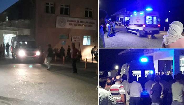Diyarbakır'da sivil araç yakınında patlama