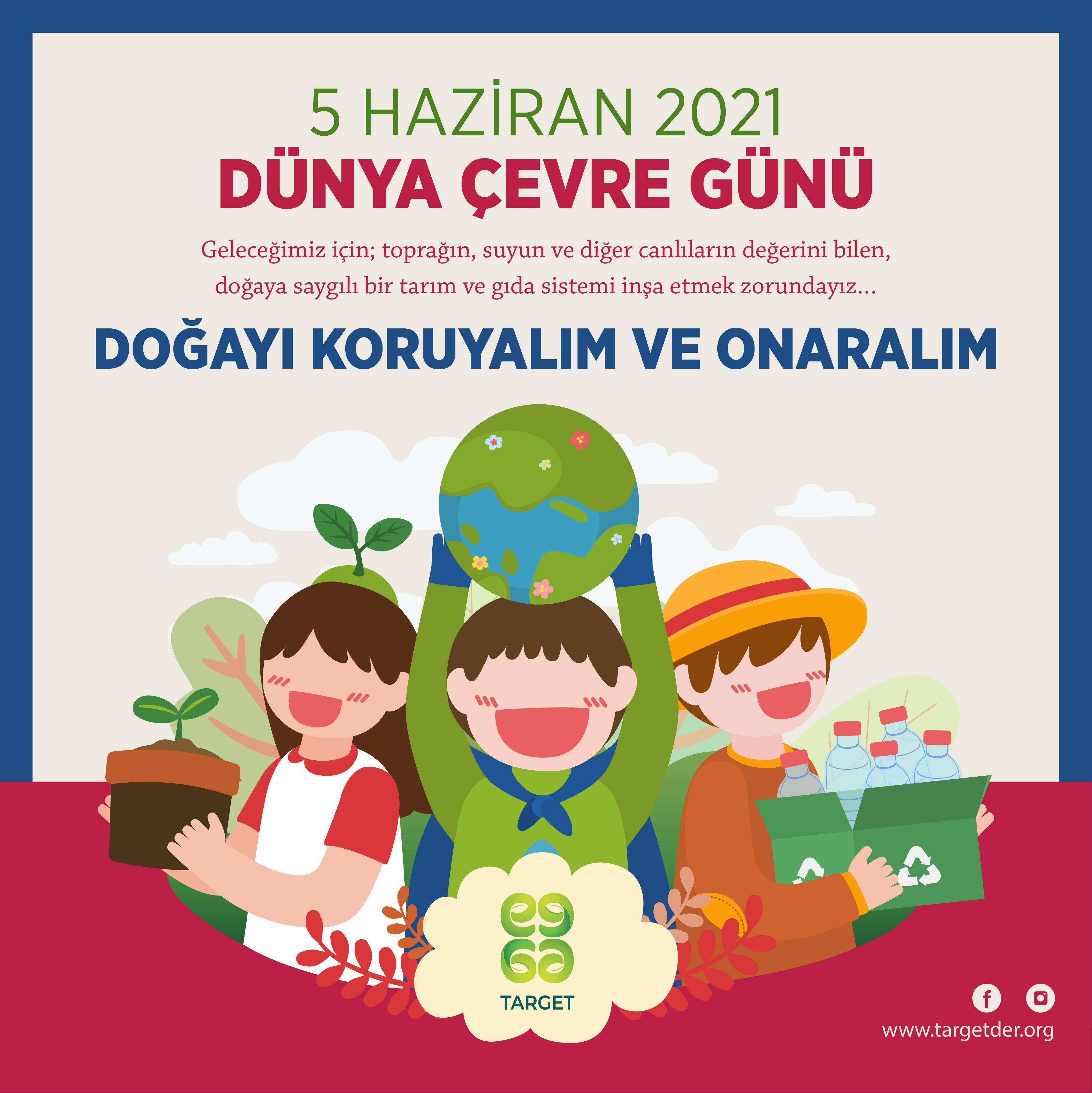 Doğayı koruyalım ve onaralım!