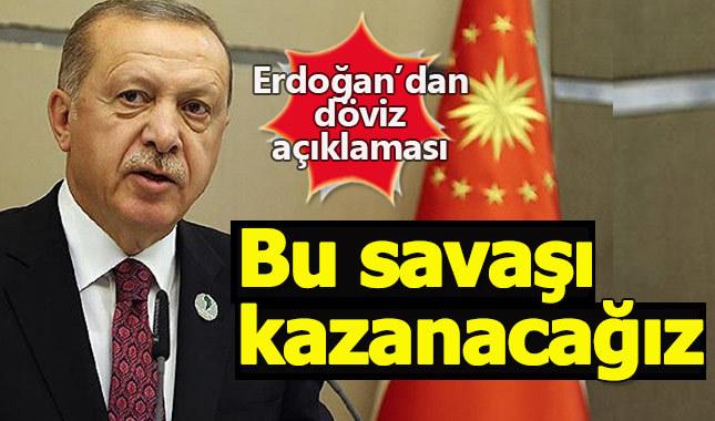 Dolar 6 TL'ye dayandı Erdoğan'dan açıklama geldi