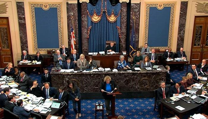 Donald Trump'ın Senato'daki azil yargılaması başladı