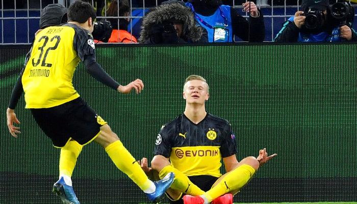 Haaland yıldızlaştı, Dortmund avantajı kaptı
