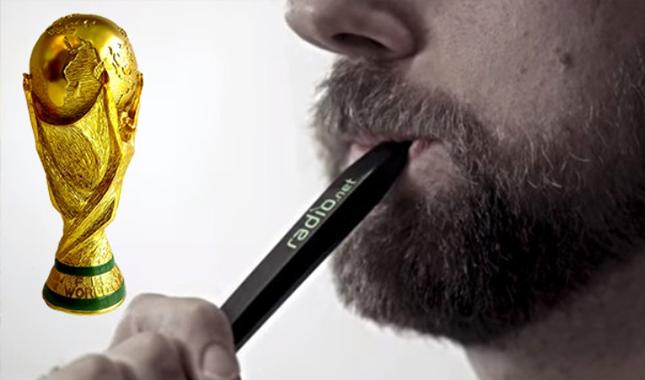 Dünya Kupası'nı sunan kalem üretildi