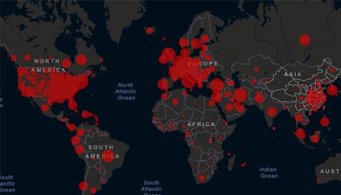 Dünya genelinde ölü sayısı 335 bini geçti