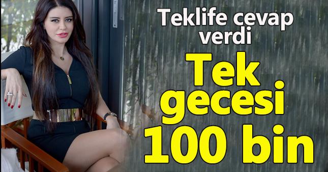 Ebru Polat, 100 bin dolarlık teklife cevap verdi!
