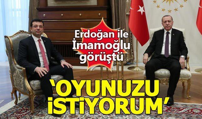 Ekrem İmamoğlu, Cumhurbaşkanı Erdoğan'la görüştü