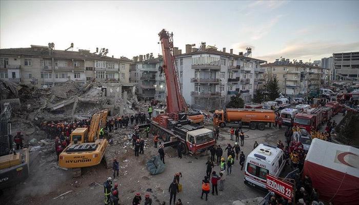 Elazığ'da arama ve kurtarma çalışmaları sona erdi