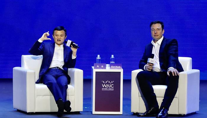 Elon Musk ile Jack Ma'dan yapay zeka tartışması