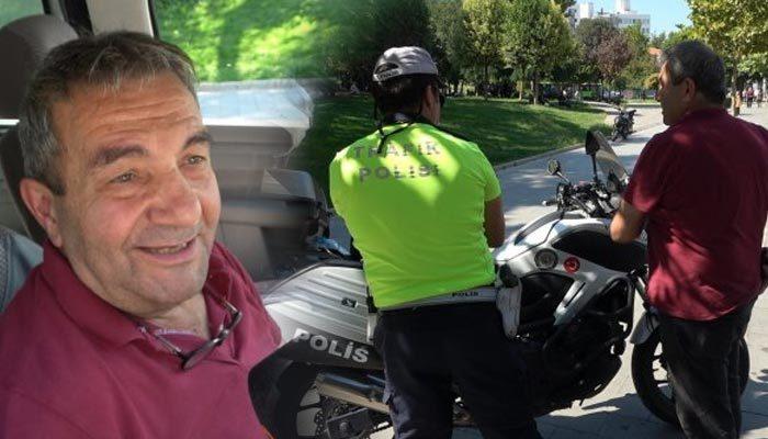 Emniyet kemeri takmayan sürücüden şaşırtan savunma