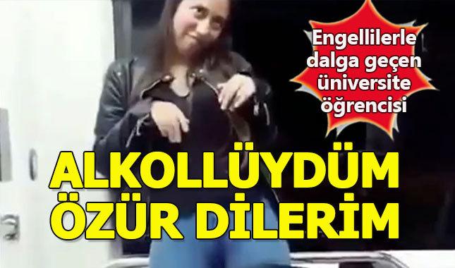Engellilerle dalga geçen üniversite öğrencisine soruşturma