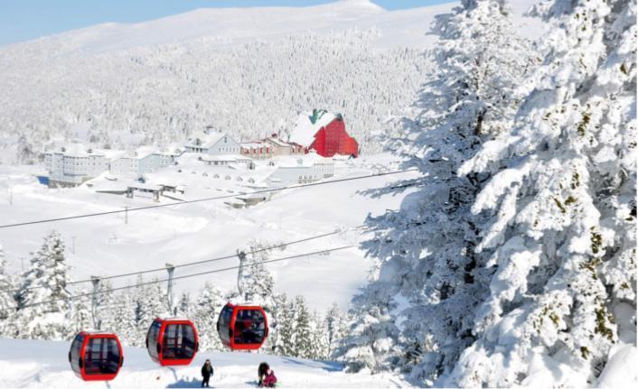 Erciyes'te otel kapasitesi artıyor