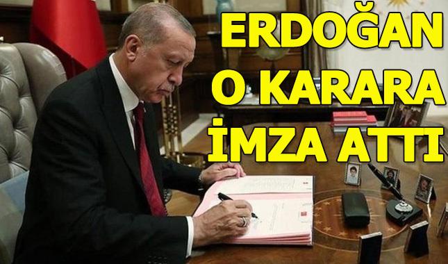 Erdoğan 9 rektörü atadı