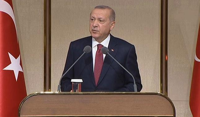 Erdoğan: Hiç kimsenin yargıyı suçlamaya hakkı yok