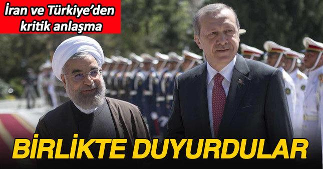 Erdoğan: İran ile Türkiye arasındaki iş hacmi artırılacak