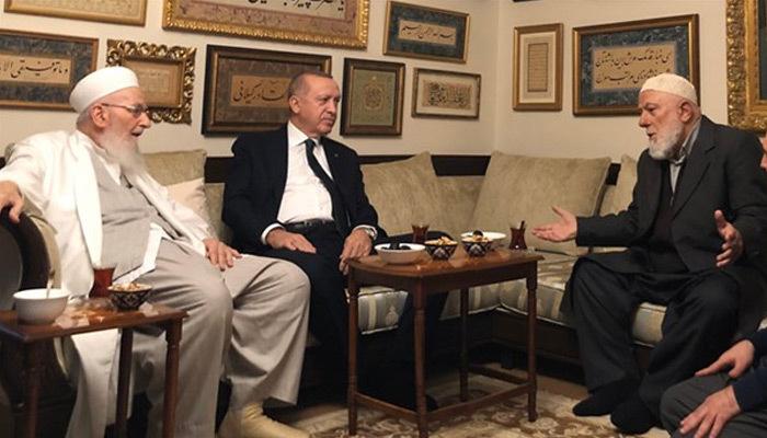 Cumhurbaşkanı Erdoğan'dan İsmailağa tarikatına ziyaret