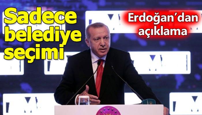 Erdoğan, İstanbul seçimiyle ilgili açıklamada bulundu
