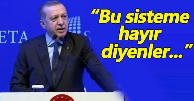 Erdoğan: Mesele Cumhuriyet değil, Türkiye'nin beka sorunu
