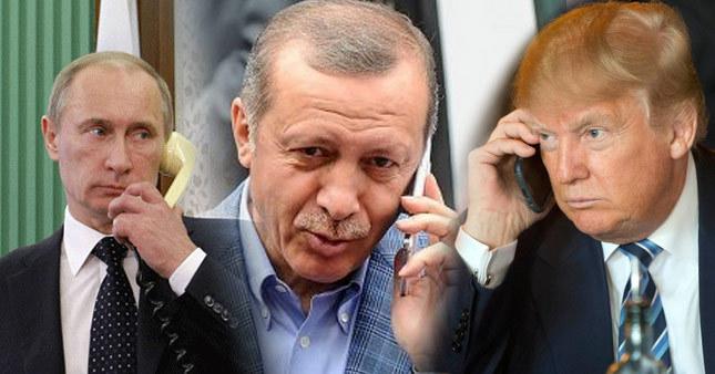 Erdoğan, Putin ve Trump'la görüşecek
