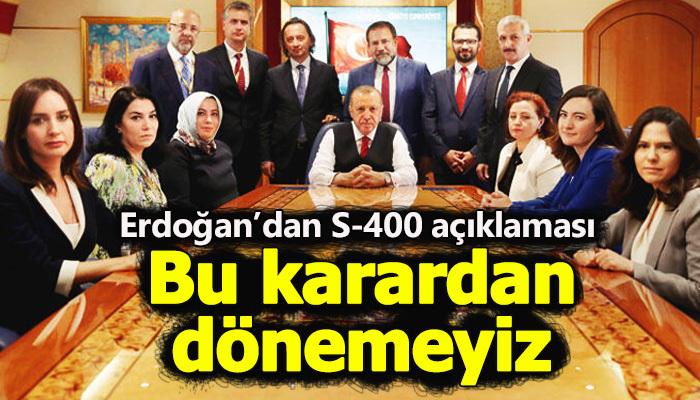 Erdoğan: Rusya bize çok uygun kredi verdi