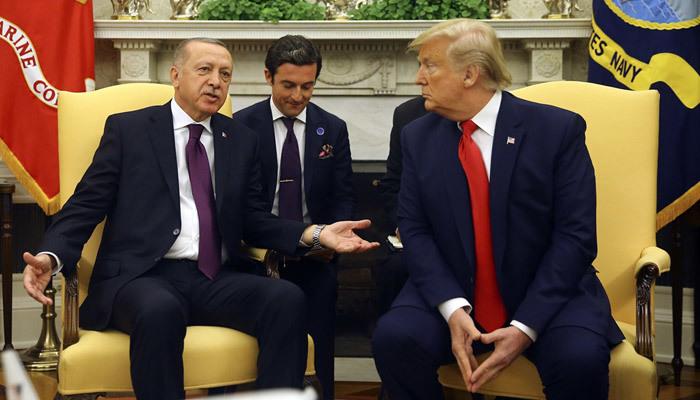 Erdoğan-Trump görüşmesi sona erdi