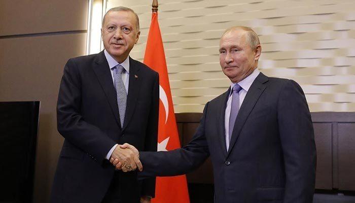 Erdoğan ile Putin, Suriye'yi görüştü