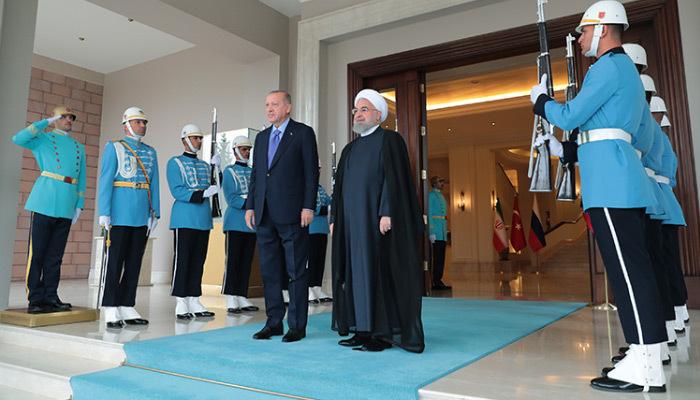 Erdoğan ve Ruhani görüşmesi sona erdi
