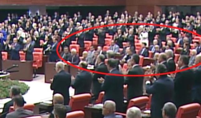 Erdoğan, yemin töreninde ayağa kalkmayan CHP ve HDP'ye tepki gösterdi