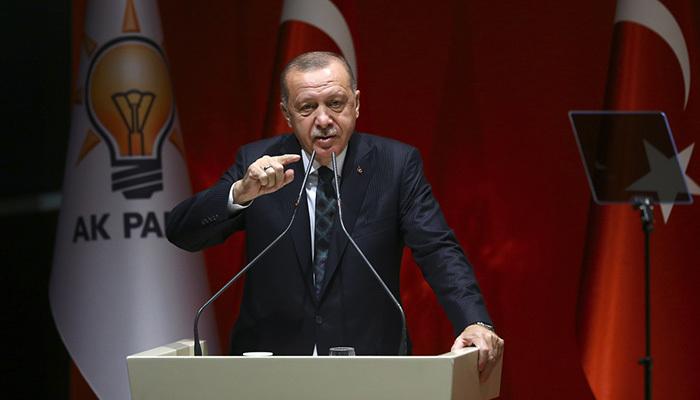 Erdoğan'dan AB'ye Barış Pınarı uyarısı