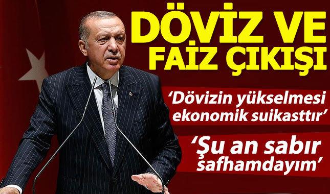 Erdoğan'dan Merkez Bankasının faiz kararına tepki