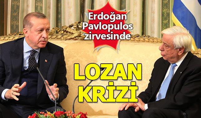 Erdoğan'dan Yunan mevkidaşına Lozan yanıtı