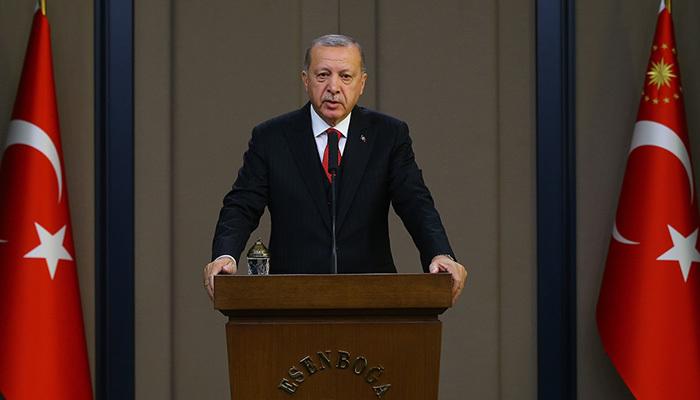 Erdoğan'ın 10 Kasım mesajı: Saygıyla yad ediyorum
