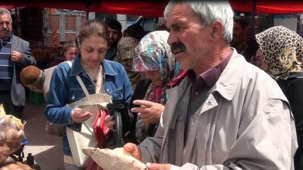 Erzurum'un altın mantarı kilosu: 47 lira