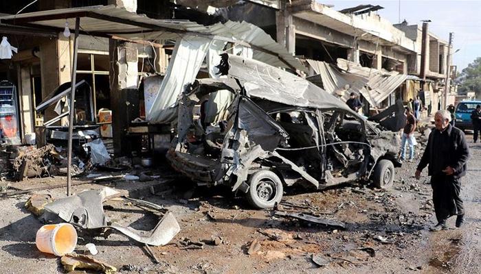 Esad güçleri İdlib'de sivilleri hedef aldı