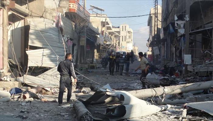 Esed rejimi ve Rusya, 11 sivilin canını aldı