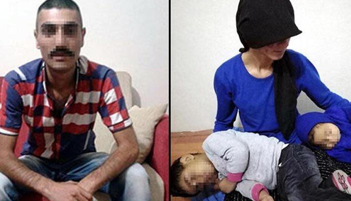 Eşine ve kızına işkence eden şahıs tutuklandı