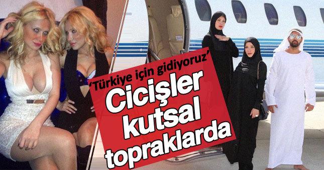 Esra-Ceyda kardeşler Türkiye için kutsal topraklarda