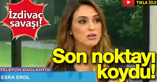 Esra Erol yayına bağlandı, Zuhal Topal şok oldu!