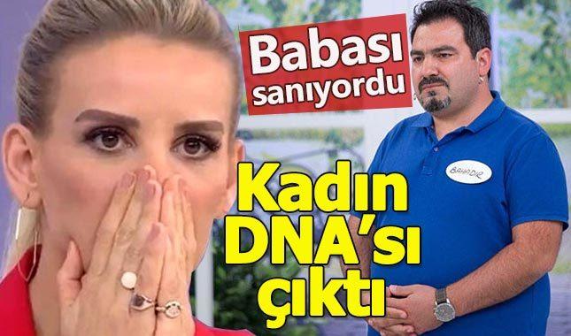 Esra Erol'da şok! Babası sanıyordu, kadın DNA'sı çıktı
