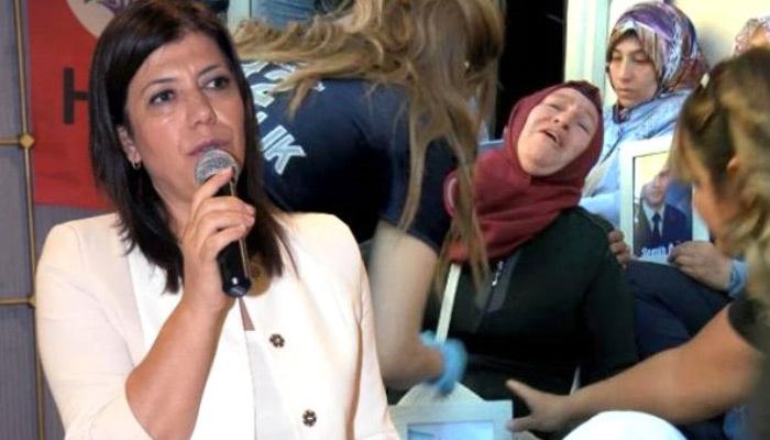 HDP'li vekilden anneleri sinirlendiren açıklama!